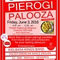 "We invite to our ""PIEROGI PALOOZA"" FUNdraiser"