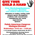 GIVE YOUR CHILD A HAND